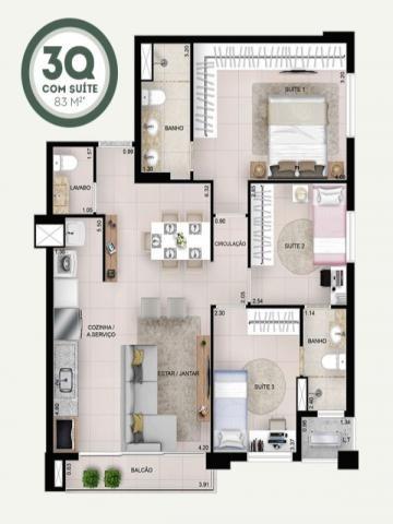 Apartamento de luxo em Goiânia, Apartamento novo, - Foto 8