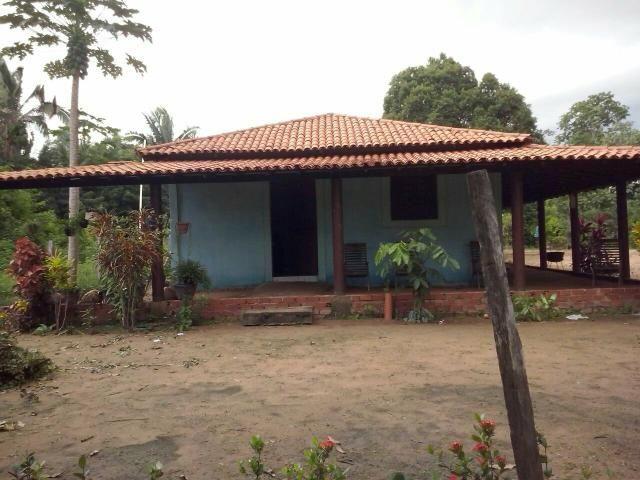 Vende-se uma chácara com casa no Povoado do Embiral R$100 mil