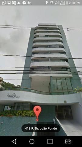 Apartamento Quarto e sala Amplo, Barra, Prédio Novo com excelente Estrutura