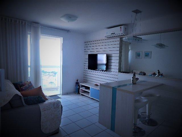 Apartamento mobiliado 2 quartos ponta negra
