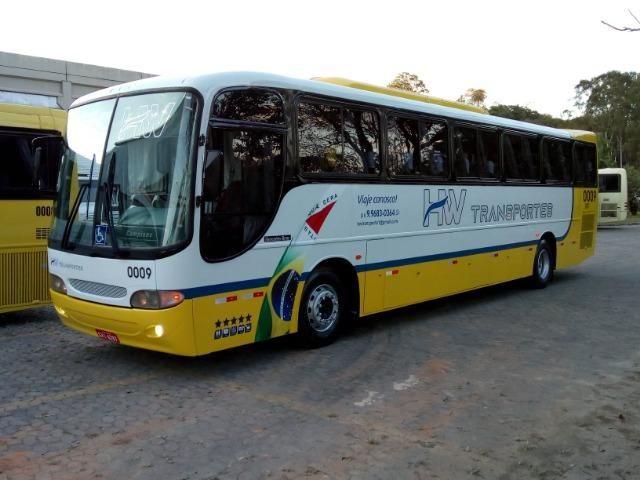 Ônibus rodoviário Comil 3.45 motor Mercedes O400 eletrônico ano 2000 46 lugares soft