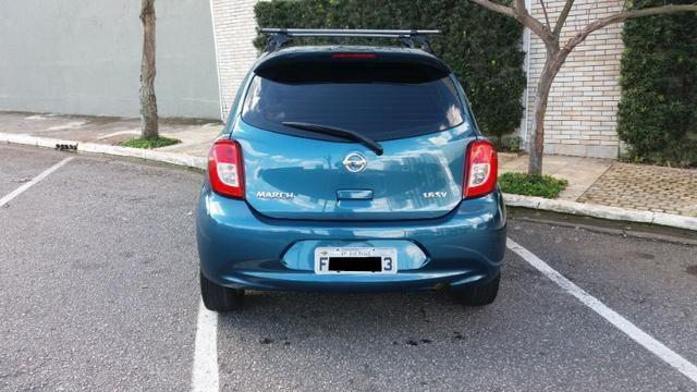 Nissan March 2015 1.6 SV 16V Completo! Excelente Estado!! Novo!! - Foto 6