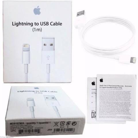 296eca2a0d8 Cabo USB Carregador IPhone Original Lacrados - Pronta Entrega ...