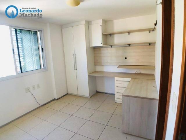 Apartamento com 3 dormitórios à venda, 115 m² por R$ 585.000 - Cocó - Fortaleza/CE - Foto 13