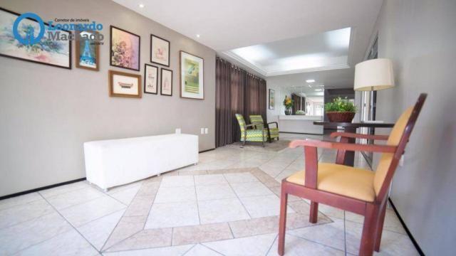 Apartamento com 3 dormitórios à venda, 99 m² por R$ 350.000 - Cocó - Fortaleza/CE - Foto 15