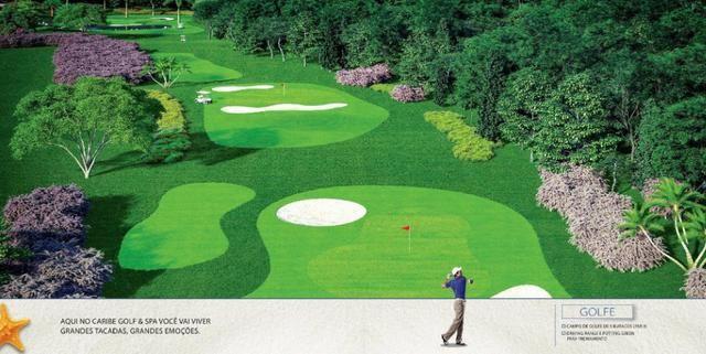 Caribe Golf & Spa Condomínio Resort - Lotes a partir de 600 m² - Beira Lago - Foto 19
