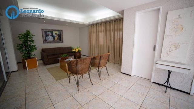 Apartamento com 3 dormitórios à venda, 99 m² por R$ 350.000 - Cocó - Fortaleza/CE - Foto 17