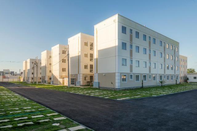 Apartamento no sim - parque flora - térreo c/ área excedente - R$: 750,00 - Foto 3