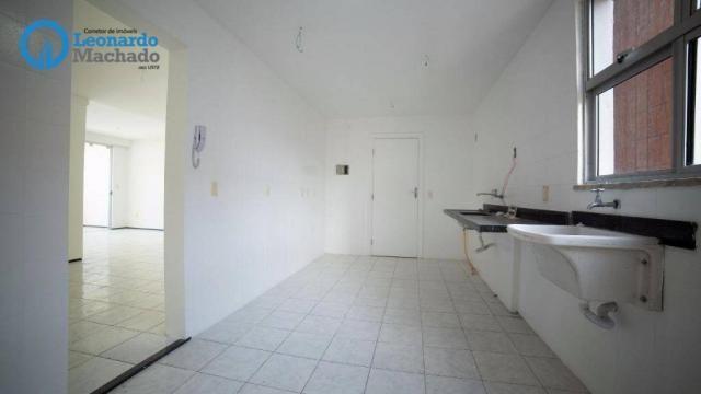 Apartamento com 3 dormitórios à venda, 99 m² por R$ 350.000 - Cocó - Fortaleza/CE - Foto 3