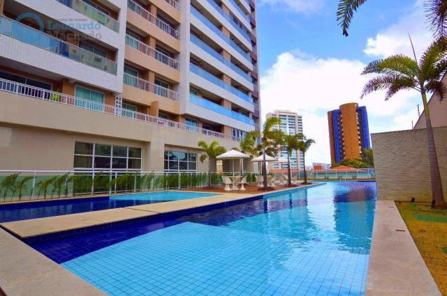 Apartamento com 2 dormitórios à venda, 70 m² por R$ 410.000,00 - Guararapes - Fortaleza/CE