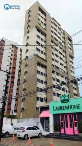 Apartamento com 3 dormitórios à venda, 126 m² por R$ 550.000 - Aldeota - Fortaleza/CE