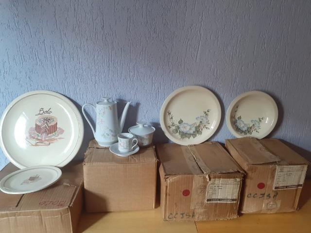 Conjunto de Porcelana Schmidt decorados