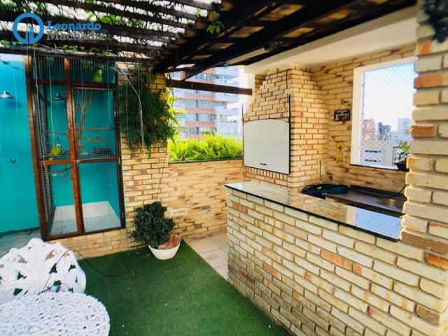 Apartamento Cobertura com 4 dormitórios à venda, 346 m² por R$ 2.500.000 - Meireles - Fort - Foto 9