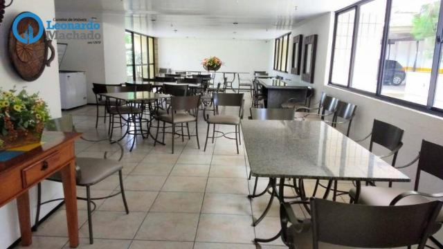Apartamento com 3 dormitórios à venda, 126 m² por R$ 550.000 - Aldeota - Fortaleza/CE - Foto 14