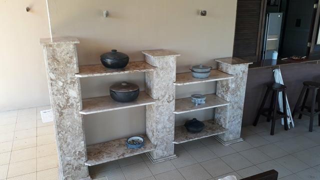 Estante de mármore travertino - Foto 2