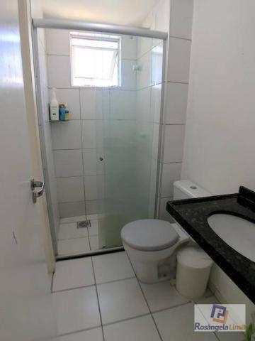 Apartamento com 2 suítes, sendo uma com closet à venda, por r$ 295.000 - cambeba - fortale - Foto 4