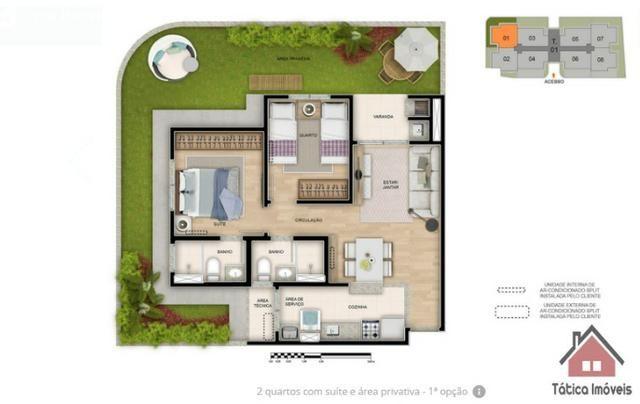 Maravilhoso Apartamento no Ecoville 2 Dormitórios - Foto 7