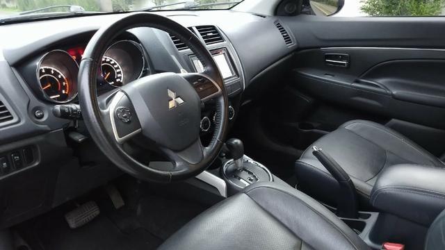 Único Dono ASX 2.0 AWD 4x4 Branca 2014 Particular Impecável Manual Chave Reserva Placa I - Foto 10