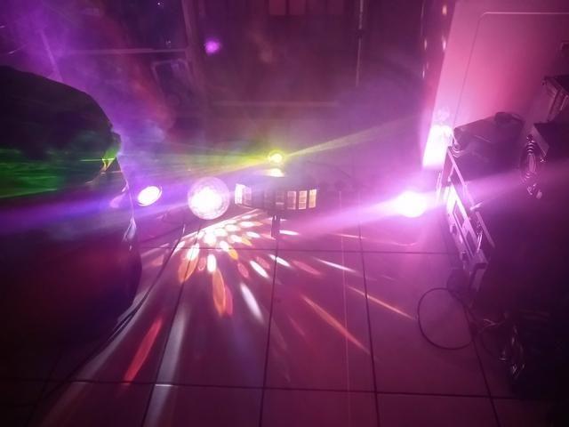 Kit de luz e fumaça para DJ - Foto 4