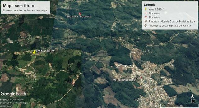 Chácara de 4.300m2 em Bocaiuva do Sul - Foto 10
