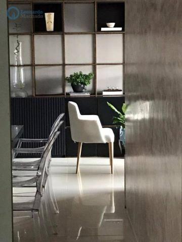 Apartamento à venda, 105 m² por R$ 546.000,00 - Meireles - Fortaleza/CE - Foto 4
