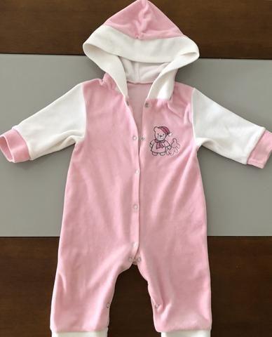 Combo de roupinha bebê menina 1-6 meses - Foto 2