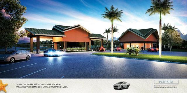 Caribe Golf & Spa Condomínio Resort - Lotes a partir de 600 m² - Beira Lago - Foto 14