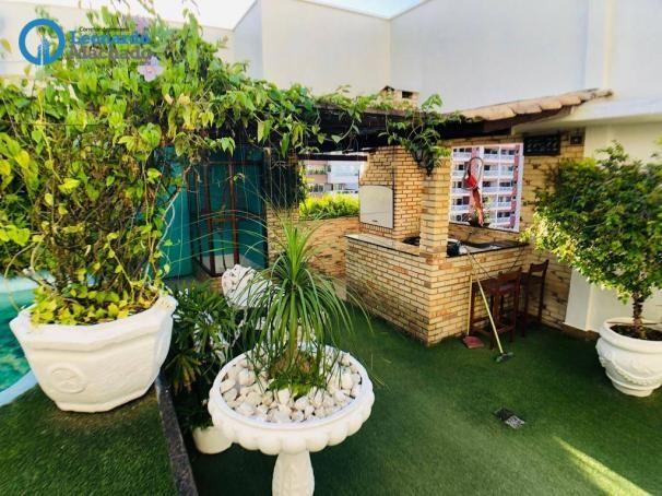 Apartamento Cobertura com 4 dormitórios à venda, 346 m² por R$ 2.500.000 - Meireles - Fort - Foto 10