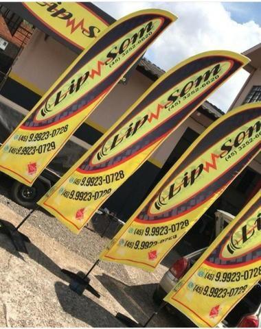 Wind Banner Profissional - a Publicidade do momento. - Foto 4
