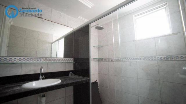 Apartamento com 3 dormitórios à venda, 99 m² por R$ 350.000 - Cocó - Fortaleza/CE - Foto 9