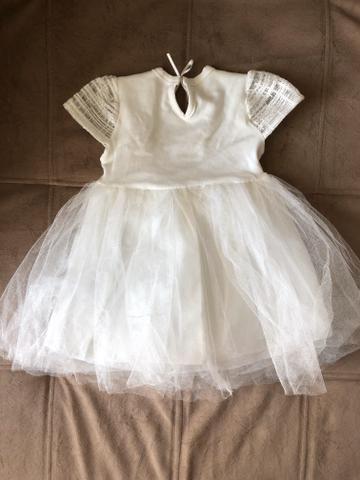 Vestido de festa bebê menina 6 meses - Foto 3