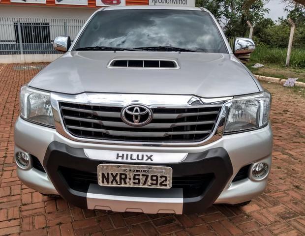 Hilux cd srv 3.0 tdi 4x4 diesel at 13-13 - Foto 2