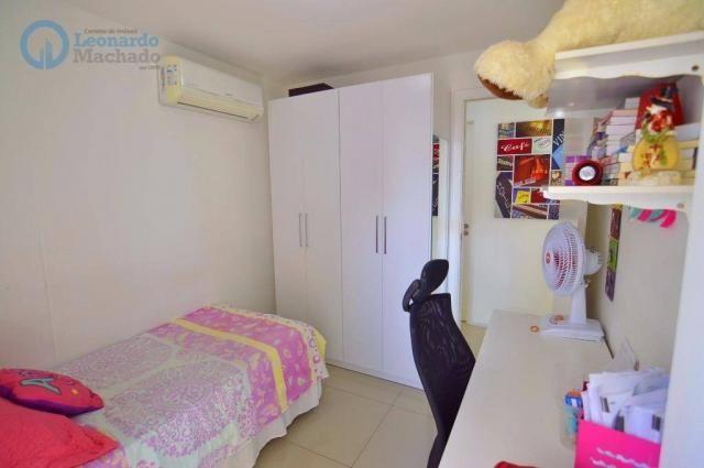 Apartamento com 2 dormitórios à venda, 70 m² por R$ 410.000,00 - Guararapes - Fortaleza/CE - Foto 7