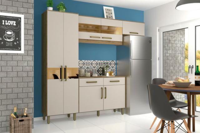Kit Cozinha B116 07 Portas e 02 Gavetas - Foto 4
