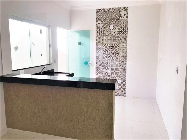VN215 - Casa Nova com Fino acabamento no Bairro Novo Mundo - Vida Nova - Foto 4