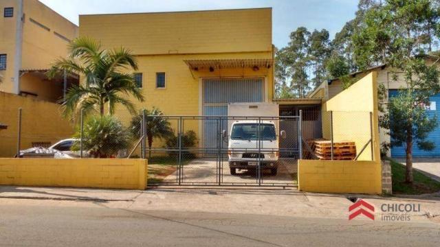 Galpão comercial à venda, residencial oásis, vargem grande paulista.