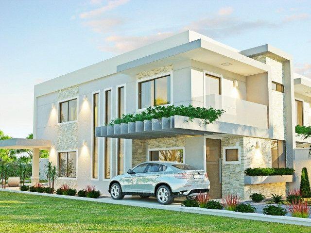 Vendo casa alto padrão em rua privativa no Eusébio. 180 m² com 4 suítes - Foto 3