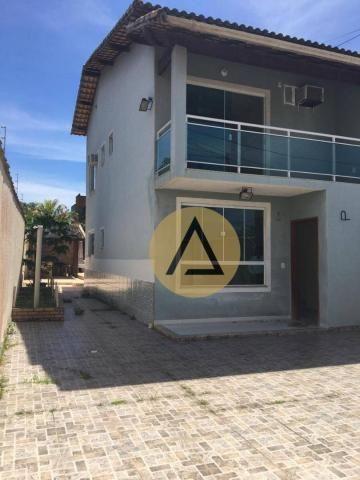 Atlântica Imóveis tem maravilhosa casa para venda no bairro Village em Rio das Ostras/RJ
