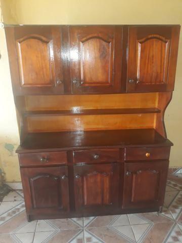 Vendo armário 400 reais de madeira maciça - Foto 5