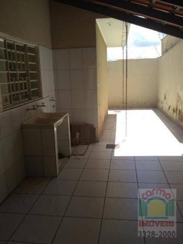 Casa com 3 dormitórios para alugar, 132 m² por R$ 1.600,00/mês - Parque Brasília 2ª Etapa  - Foto 13