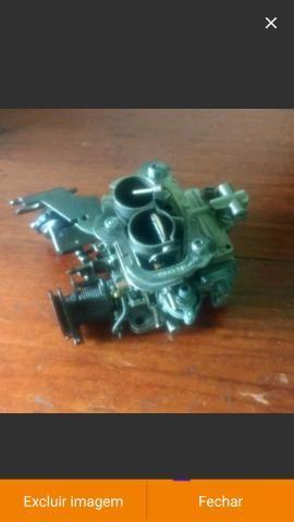 Carburador werber 1.6 álcool AP e coletor admissão escape gol quadrado - Foto 14