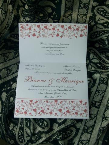 Convites de Casamento - Foto 6