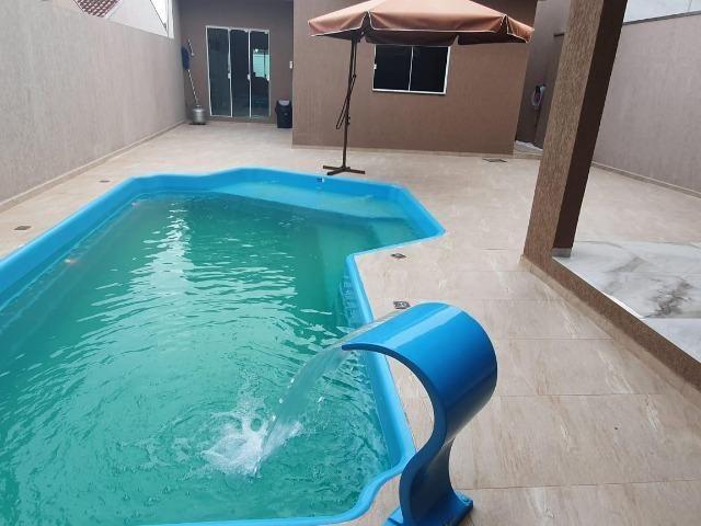 Casa com piscina alto padrão à 350 metros da beira mar. Confira - Foto 6