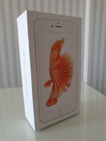 Iphone 6s plus 32 / lacrado / top demais