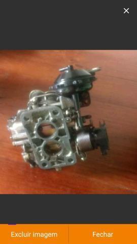 Carburador werber 1.6 álcool AP e coletor admissão escape gol quadrado - Foto 12