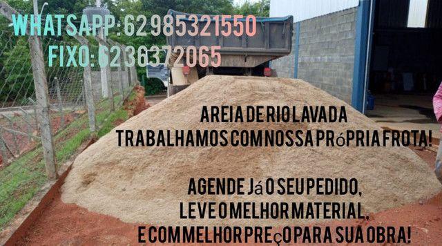 Areia de RIO da draga - Foto 2
