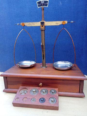 Balança de precisão antiga - Foto 6