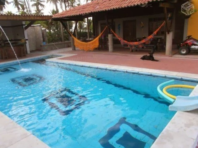 Casa Praia Chácara Sitio  8 Quartos 6 Suítes E 10 Banheiros Piscina Vendo Troco Facilito - Foto 12