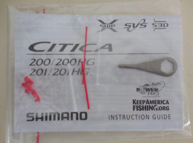 Carretilha Cítica 200 HG Shimano - Foto 6