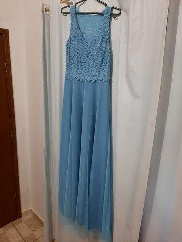 Vestido Madrinha Azul Serenity  - Foto 3